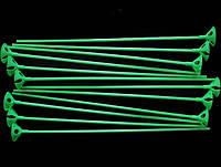 Палочки+Насадки зеленые 1 уп.-100 шт
