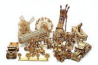 Обзор деревянных механических 3Д моделей торговой марки WoodTrick (Вудтрик)