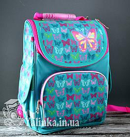 Рюкзак каркасный  PG-11 Butterfly turquoise 554449  Smart