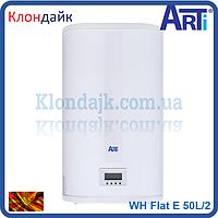 Бойлер плоский Arti серия Flat E 50 литров ,электронное управление (Македония) WH Flat E 50L/2