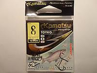 Крючки Kamatsu оригинал toyko 8 (карась, лещ, плотва), фото 1