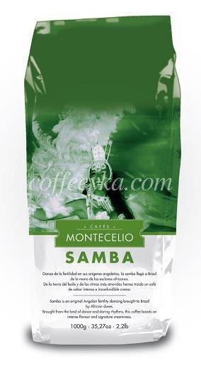 Кофе в зернах «MONTECELIO SAMBA» 1кг