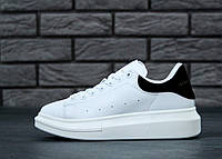 Кроссовки женские Alexander McQueen Oversized Sneakers, адидас александр макквин, реплика