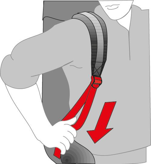 шлейки в рюкзака