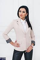 Женский пиджак (48, 50) — коттон мемори