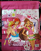 Сумка-рюкзак c героями DISNEY феями Winx