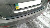 Защитная накладка на задний бампер Skoda Octavia A5 (2009-2013) LB