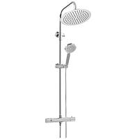 Душевая система с термостатом Invena Imola Exe AU-11-001 хром