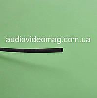 Термоусадочная трубка (2:1) - 1.5/0.75 мм, 1 метр, черная