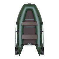 Лодка надувная рыболовная Kolibri KM-300DL(килевая)серии Light