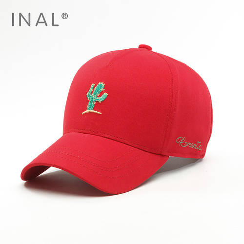 Кепка бейсболка, Cactus, Хлопок, Красный, Inal