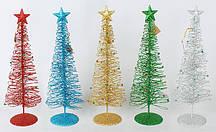 Декоративная елка 40см, 6 видов