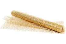 Ткань для декораций золото