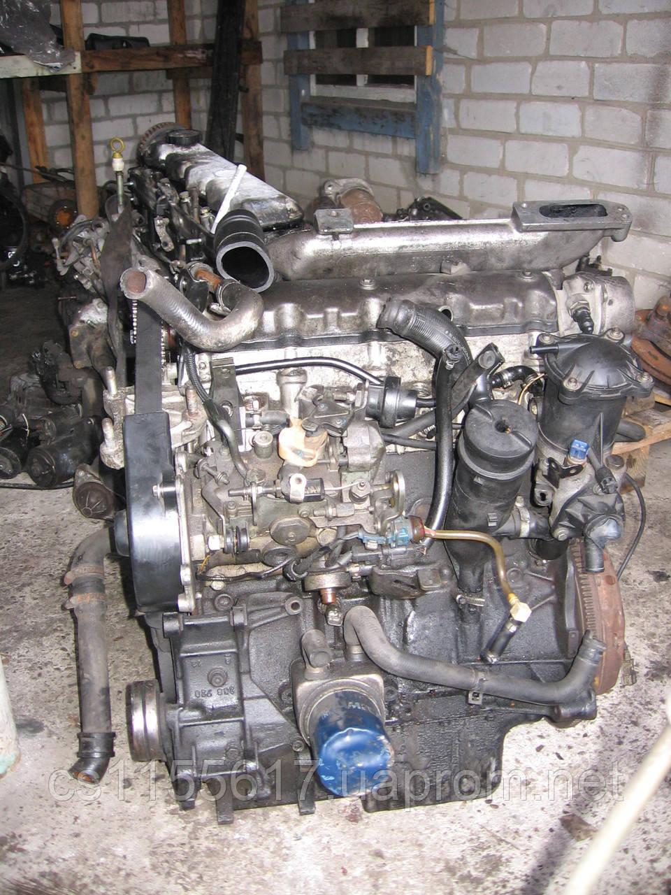 Двигатель/мотор 10CU9W б/у на Peugeot Expert, Citroen Jumpy, Fiat Scudo  1.9TD год 1994-2006 DHX XUD9TF/L