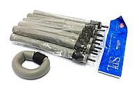 Бигуди Папильотки (бумеранги) с липучкой короткие серые , (180 мм/20 мм), фото 1