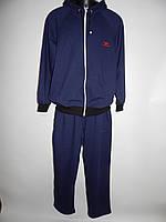 Спортивный костюм мужской полноразмерный Montana sport реплика весна темный синий разм. 50-56