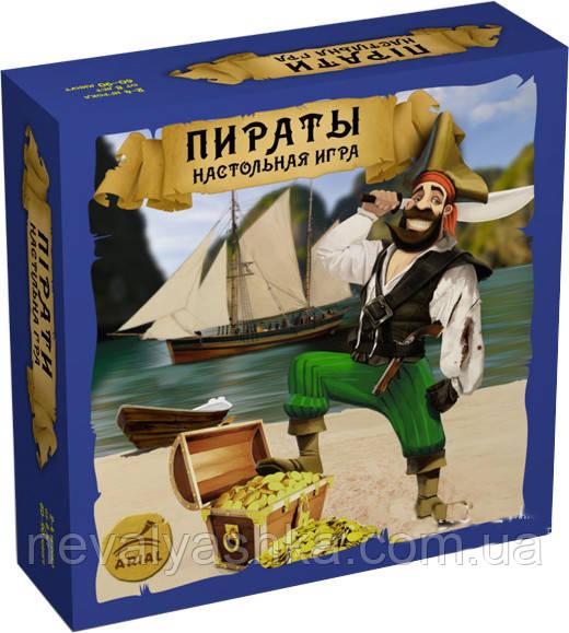 Настольная Игра Пираты Пірати, АРИАЛ ARIAL, 007033
