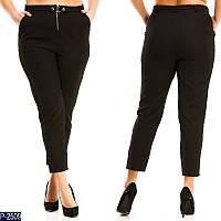 Женские брюки (50, 52, 54, 56) — креп-костюмная