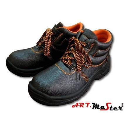 Ботинки кожаные с защитным подноском Натуральная кожа Цвет черный Размеры: 36-48, фото 2