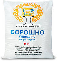 Мука пшеничная Рома высший сорт мешок 50 кг