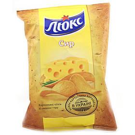 Чипсы Люкс с сыром 25г