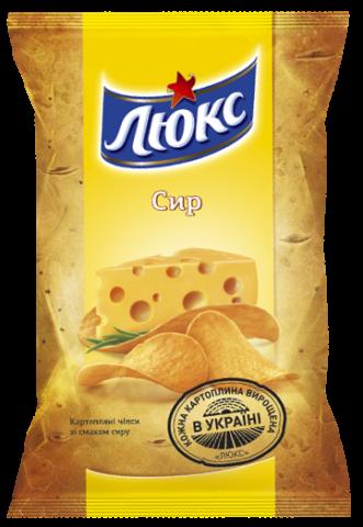 Чипсы Люкс с сыром 71г