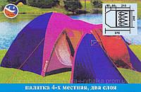 Палатка для кемпинга, Палатка 4-местная Coleman 1036