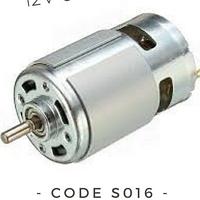 Двигатель шуруповерта 12В S016