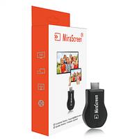 ОРИГІНАЛЬНИЙ MiraScreen Wi-Fi адаптер з прошивкою EZcast! (Miracast HDMI через Wi-Fi, аналог chromecast)