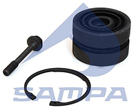 Ремкомплект реактивной тяги DAF CF75/CF85/XF95/XF105/LF45/LF55 1445656, SAMPA