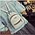 Рюкзак маленький школьный городской серый Модный Высота 20 см., фото 2