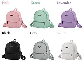 Рюкзак маленький для девочки или девушки городской  Модный Высота 25 см.