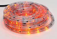 Гирлянда Дюралайт 6м, 30 лампочек/ 1м (разноцветные), прозрачная трубка, 8 режимов. Для внутреннего применения.