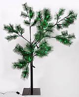 Светящееся дерево Сосна 0.75m, 112 LED (зелёные) ,постоянное свечение.На треноге, для уличного применения.