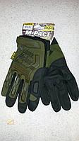 Перчатки тактические Mechanix gloves M-pact, защитные полнопальцевые перчатки