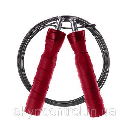 Швидкісна JUNIMO - Професійна скакалка для спорту та фітнесу, фото 2