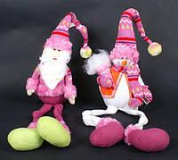 Мягкая игрушка Санта, Снеговик, 45см