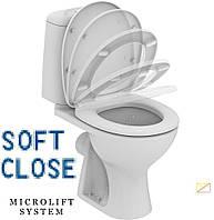Туалетное сиденье с микролифтом Universal-DM (Польша)