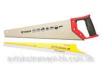 Ножовка (пила) по дереву с каленым зубом 400 мм, 55 HRC Housetools 10K140