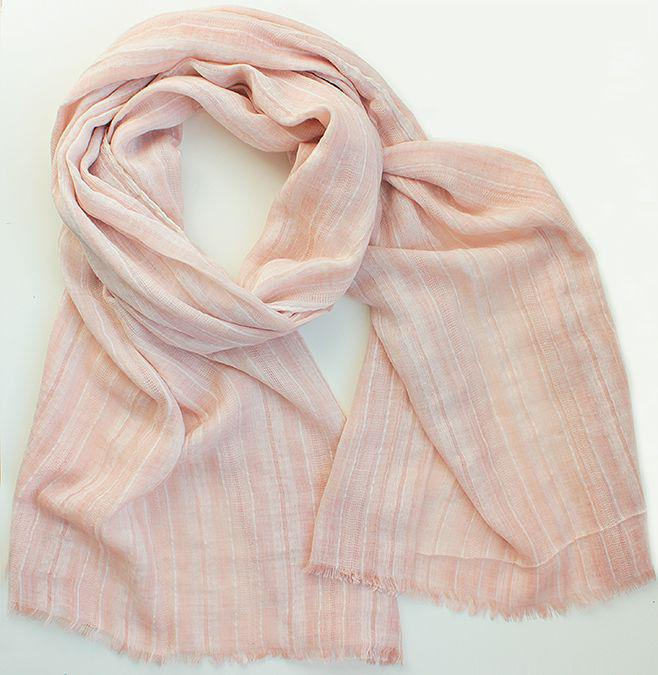 Женский шарф 200 на 100 dress А0015_персик