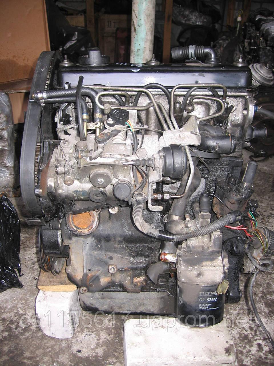 Двигатель  на VW Caddy пикап 1.9D год 1996-2000; VW Polo фургон 1.9D год 1994-1999