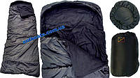 Спальный мешок одеяло с капюшоном, Зимний Спальник 'Турист' (до -10 *)