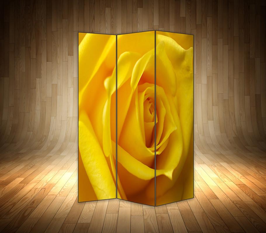 """Ширма декоративна"""" Макро троянда"""""""