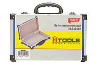 Чемодан для инструмента алюминиевый 395*240*90 мм (синий) Housetools 79K222