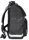 Рюкзак школьный Успех каркасный ортопедический чёрный с машиной, фото 2