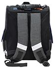 Рюкзак школьный Успех каркасный ортопедический чёрный с машиной, фото 3