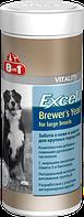 """Пивные дрожжи для собак крупных пород """"Excel Brewer's Yeast for large breed"""" (80 таб), 8in1"""