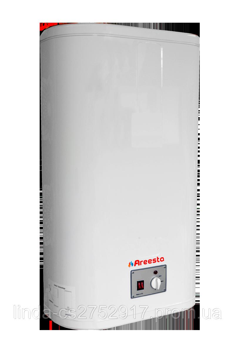 Водонагрівач Areesta Water heater Flat MR 80 л, бойлер 80л мокрий тен, Бойлер Areesta, зроблений в Македонії