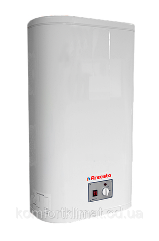 Водонагрівач Areesta Water heater Flat MR 80 л, бойлер 80л мокрий тен, Бойлер Areesta, зроблений в Македонії, фото 2