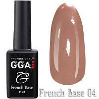 Каучуковая база GGA Professional French Base № 04 15 мл